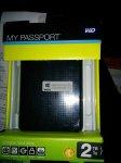 2TB Western Digital passport usb3 £29.99 @ Staples instore