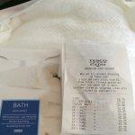 Bath sheets £2.25 and bath towel £1.75 @ Tesco