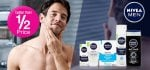 Better than 1/2 Price on selected Nivea & L'Oreal for Men from 98p @ SuperDrug