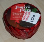 Christmas Pudding, 10p @ B&M