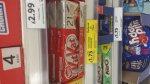 KitKat 2 finger 21pack for £1.75 @ Tesco