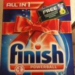FINISH ALL IN ONE POWERBALL 60 BOX TESCO £3.20!