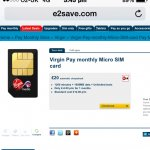Virgin Media sim 1200 minutes + 1000MB data + Unlimited texts for £12 with £20 auto cheque back + Quidco