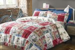 Bicycle duvet cover and pillow case £12 @ Very