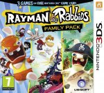 Rayman & Rabbids Family Pack 3DS - 3 retail games in 1 - £15 - Amazon