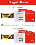 Nobby Nuts FREE @ Bargain Booze with App