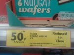 6 pack of Nougat Wafers 50p @ Tesco Instore