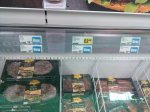 Australian meat Kangaroo; wild boar; crocodial and ostrich burger and steak from £1.50 instore @ Iceland