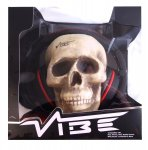 VIBE BlackDeath Over Ear Headphones + FREE SKULL: £49.75 @ Amazon (Sold by OEGE Energy Fulfilled by Amazon)  (Free Super Saver Delivery)