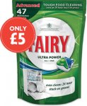 Fairy Auto Dishwasher (All in One Regular) tablets (47) RRP £13.99 now £5.00 @ Nisa Local