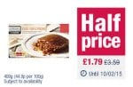 The Co-operative Truly Irresistible Sticky Toffee Pudding, half price £1.79 (from £3.59)