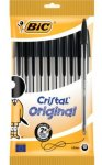 BiC Cristal Medium Ball Pen (Pack of 10) £2.00 from amazon (free delivery on a £10 order)
