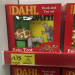 Roald Dahl book and soft toy now £1.75 @ Tesco instore