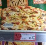 Goodfellas stone baked thin chicken pizzas £1.34 @ morrisons Glasgow