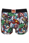 Marvel Comic Print Hipster Trunks At Tesco Clothing Reduced - £2