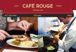 Win £150 of Café Rouge vouchers