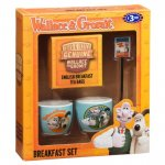Wallace And Gromit Breakfast Set Egg Cups Spoon Tea Bags Gift Set - £1.99 @ B&M
