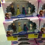 Complete set of Frozen figures £5.99 at B&M