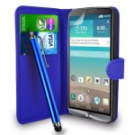 LG G3 Leather Wallet Flip Case with Stylus n Screen protector 99p inc postage @ Amazon (Sold by GB Online Sales)