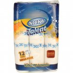 Nicky Jumbo Kitchen Towel (12 pack) ONLY £2.50 @ Heron Foods