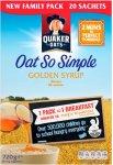 Quaker Oat So Simple Original Sachets (22 x 27g) was £3.99 now £1.99 @ Morrisons