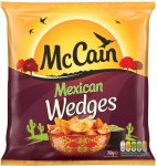McCain Mexican Wedges (750g) was £2.00 now £1.00 @ Morrisons