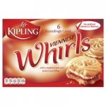 Mr. Kipling's Viennese Whirls 64p @ Morrisons Newlands Glasgow
