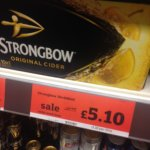 Strongbow Cider x 10 450ml Cans £5.10 @ Sainsbury's