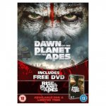 Dawn of the planet of the apes DVD with free DVD @ Tesco for £7.00