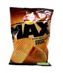 Walkers MAX Deep ridged Chargrilled steak crisps 19p at Home Bargains
