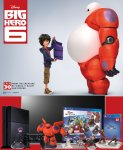 Win an LG 3D Smart TV AND 2 Playstation 4's complete with Disney Infinity game, Marvel Superheroes Starter Pack and two figures from Big Hero 6 @ Key 103