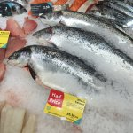 Whole Salmon (£6.50/kg) @ Tesco Extra Hatfield