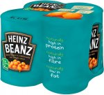 Heinz beanz 4x415g £1.75 @ lidl from feb 5