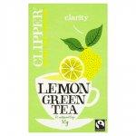 Clipper Green Tea - Pure/Decaf/Mint/Lemon (25) 64p at tesco