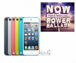 Win an Apple iPod Touch & NOW Power Ballads CD @ Win Something