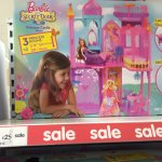 Barbie castle of secrets princess playset set £25.00 @ Asda instore