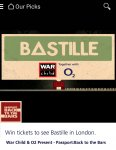 WIN tickets to see Bastille in London via o2 Priority Moments