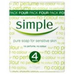 Simple Pure Soap £1.20 for 4 x 125g Bars @ Morrisons
