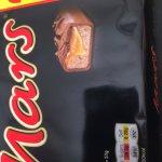 Mars Bar 4 pack (3+1 free) 50p @ Tesco in Cambridge.