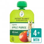 Peter Rabbit Organic Apple Puree Pouch - 19p at Homebargains RRP £1