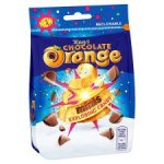 Tesco Terry's Choc Orange Exploding Candy bags 136g 25p in Tesco St Rollox