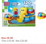 Mega bloks play set @ house of Fraser free c/c