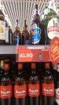 Tiger Beer 660 ML bottles for 1.50
