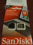 SanDisk Cruzer Fit 32GB USB £4 @ Tesco