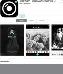 iOS free BlackCam - Black&White Camera RRP £0.69