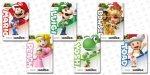 Amiibos of the New Super Mario Collection - £10.99 @ Amazon