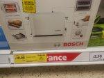 Bosch Toaster 2 slice Tesco  instore £10