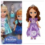 Disney Toddler dolls Argos over 50% off - Sofia 11.99 & anna/elsa with olaf £21.99