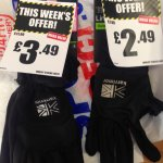 Karrimor gloves £5.99 to £2.49 instore @ Sports Direct