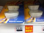 2 Mini Smoke Alarms at Savers - great price at £2.90 but scanning at .49p including batteries